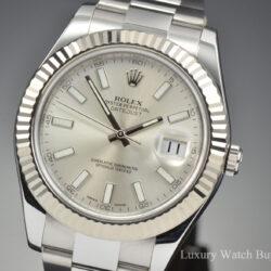 Rolex Datejust II Silver 116334