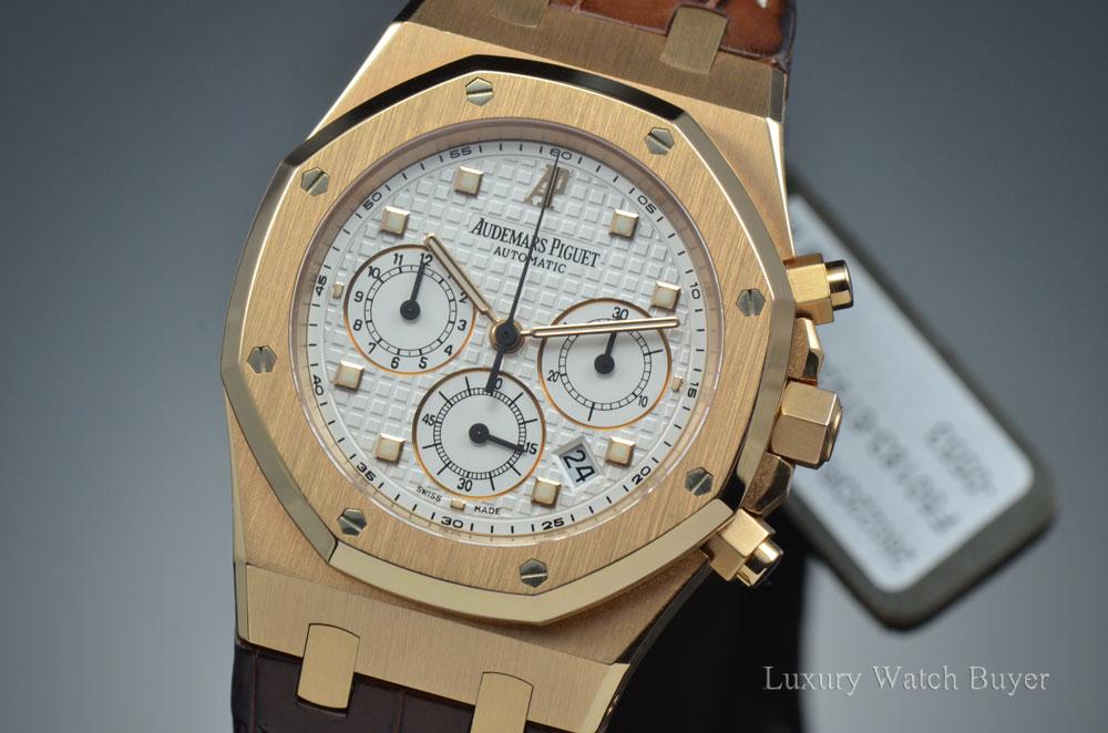 6767b5f9a74a Audemars Piguet Royal Oak Chronograph 39MM 18K Rose Gold  26022or.oo.d088cr.01
