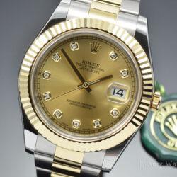Rolex Datejust 116333CDO II Diamond Champagne