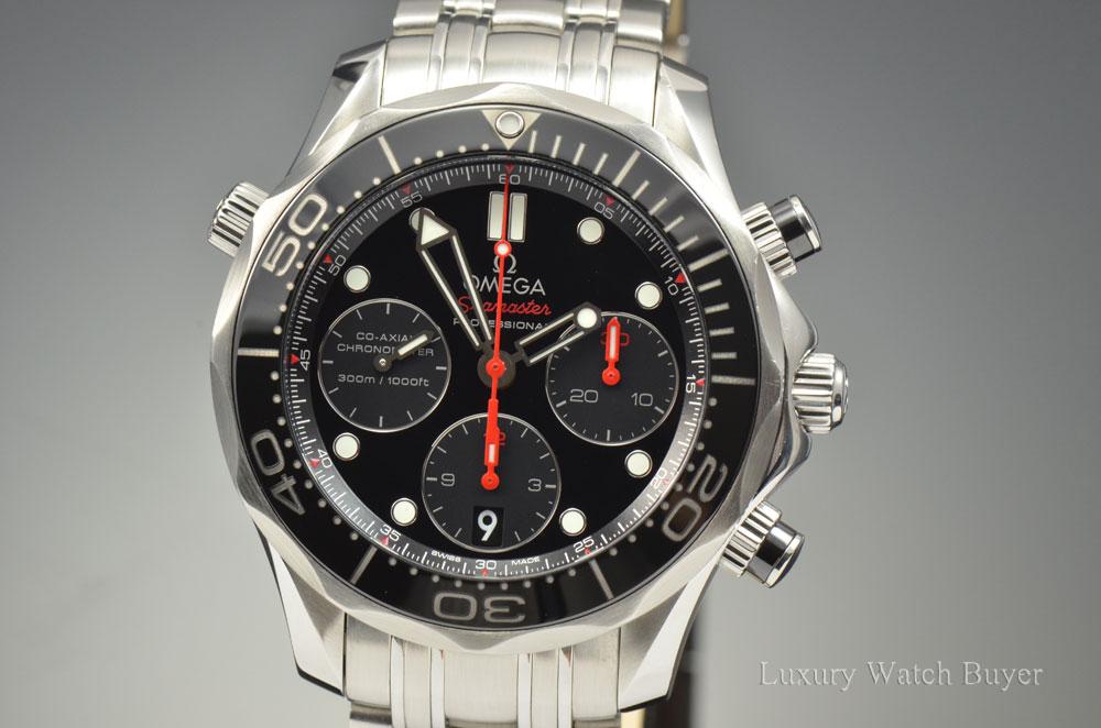 620141a6261a3 Mens Omega Seamaster Professional Diver 300M Co-Axial Ceramic ...