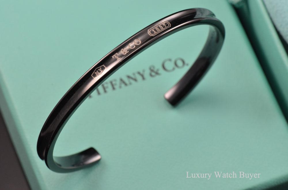 Tiffany Amp Co 1837 Titanium Narrow Cuff Bracelet Luxury