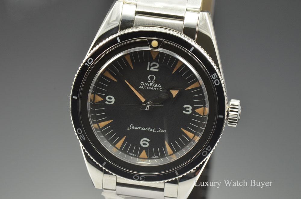 40b09d653e5 Omega Seamaster 300 Co-Axial 1957 Trilogy 60th Anniversary 234.10 ...