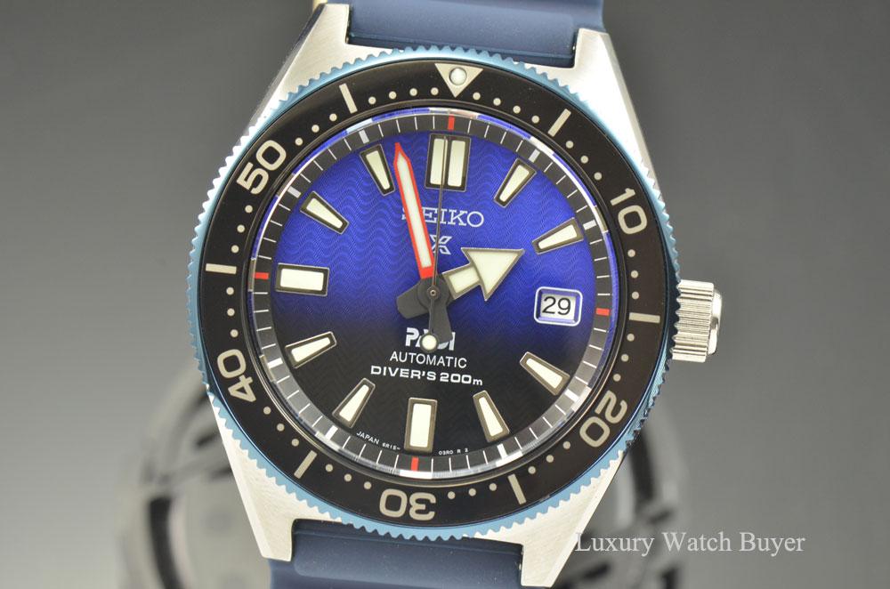 New Seiko Special Padi Edition Automatic Prospex Master Series Blue