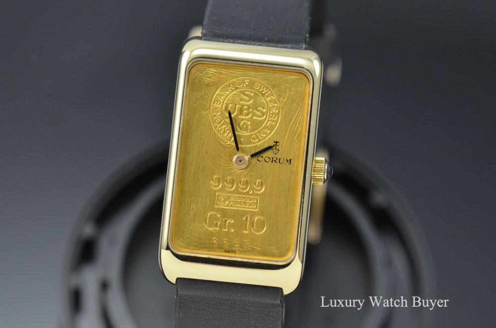 Corum 10 Gr Ingot 24k 999 9 Gold Bar Ubs Union Bank Of